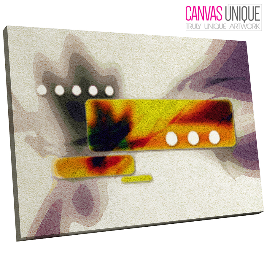 AB513 Orange grau Contemporary Abstract Canvas Wall Art Framed Picture Print
