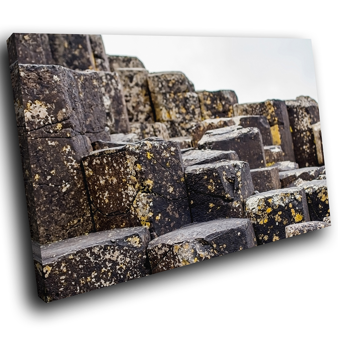 SC842 giants causeway ireland photo Scenic Wall Art Picture Large Canvas Print